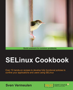 Cover of SELinux Cookbook