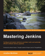 Cover of Mastering Jenkins