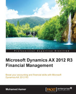 Cover of Microsoft Dynamics AX 2012 R3 Financial Management