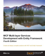 Cover of WCF Multi-layer Services Development with Entity Framework Fourth Edition