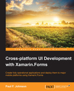 Cover of Cross-platform UI Development with Xamarin.Forms