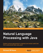 Cover of Natural Language Processing with Java