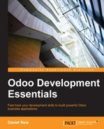 Cover of Odoo Development Essentials
