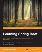 Cover of Learning Spring Boot