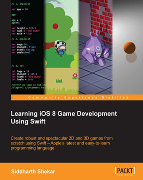 Learning iOS 8 Game Development Using Swift [Book]