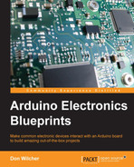 Cover of Arduino Electronics Blueprints