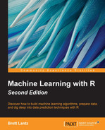 Cover of Machine Learning with R - Second Edition