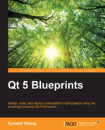 Cover of Qt 5 Blueprints