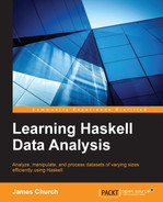 Cover of Learning Haskell Data Analysis