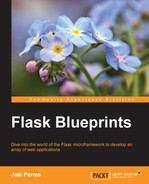Cover of Flask Blueprints