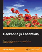 Cover of Backbone.js Essentials