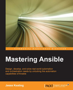 Cover of Mastering Ansible