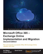 Cover of Microsoft Office 365 – Exchange Online Implementation and Migration - Second Edition
