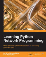 Cover of Learning Python Network Programming