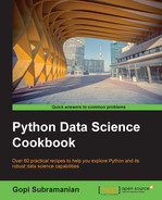 Book cover for Python Data Science Cookbook