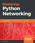 Cover of Mastering Python Networking