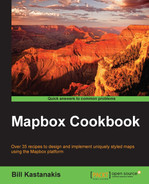 Cover of Mapbox Cookbook