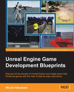 Cover of Unreal Engine Game Development Blueprints