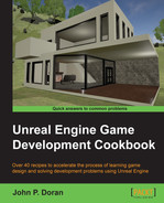 Cover of Unreal Engine Game Development Cookbook