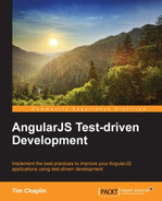 Cover of AngularJS Test-driven Development
