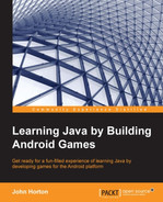 Cover of Learning Java by Building Android Games