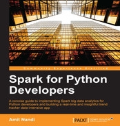 Cover of Spark for Python Developers