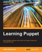 Cover of Learning Puppet