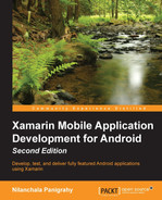 Cover of Xamarin Mobile Application Development for Android - Second Edition