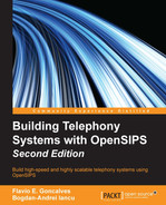 Cover of Building Telephony Systems with OpenSIPS - Second Edition