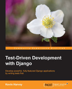Cover of Test-Driven Development with Django