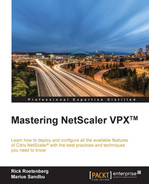 Book cover for Mastering NetScaler VPX™