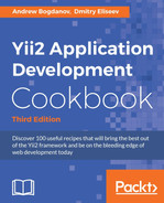 Cover of Yii2 Application Development Cookbook - Third Edition