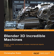 Cover of Blender 3D Incredible Machines