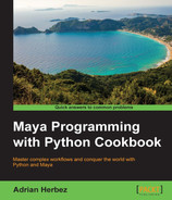 Cover of Maya Programming with Python Cookbook