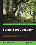 Cover of Spring Boot Cookbook