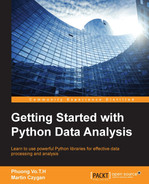 Cover of Getting Started with Python Data Analysis