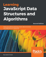 Cover of Learning JavaScript Data Structures and Algorithms - Second Edition
