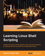 Cover of Learning Linux Shell Scripting