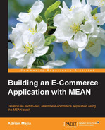 Cover of Building an E-Commerce Application with MEAN