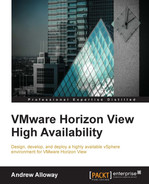 Book cover for VMware Horizon View High Availability