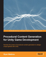Cover of Procedural Content Generation for Unity Game Development