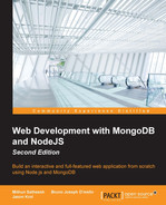 Cover of Web Development with MongoDB and NodeJS - Second Edition