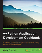 Cover of WxPython Application Development Cookbook