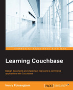 Cover of Learning Couchbase
