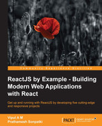 Cover of ReactJS by Example - Building Modern Web Applications with React