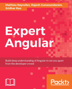 Cover of Expert Angular