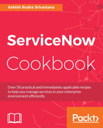 Cover of ServiceNow Cookbook