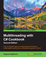 Cover of Multithreading with C# Cookbook - Second Edition