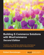 Cover of Building E-Commerce Solutions with WooCommerce - Second Edition