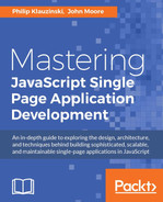 Cover of Mastering JavaScript Single Page Application Development